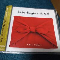 尾崎亜美「Life  Begins at 60」届きました