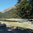 ピレネー山小屋縦走トレッキング;第3日目(1);専用車でピオーザルティギュエ湖へ