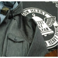 【Iron Heart】IHJ-75 21oz. denim mountain parka