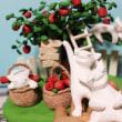 りんご豊作だニャン♪ 制作風景です