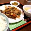 【日替】牛肉と野菜のブラックペッパー炒めを頂きました。 at 元祖紙やき ホルモサ