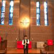 教会での演奏