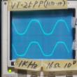 VT-25PPアンプのひずみ率特性