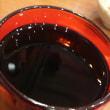 牛皿で赤ワイン