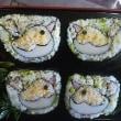 小鳥の巻き寿司