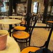 今日のソトカフェ「なんばパークス・アンティコカフェアルアビス」
