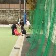 テニス部が合同練習をしています!