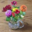ケイトウのお花がこんなに大きく綺麗に・・・   布製、帯締め入れ・帯締めケース「優舞美」
