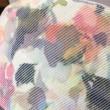 お花のカモフラージュ柄ハット
