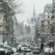 80歳自分へのご褒美旅 46  雪のパリ風景 1