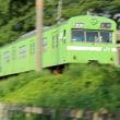 奈良線の103系を撮る