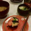 🎵 なぜか無性にお味噌汁が食べたくて、 回転寿司の注文は浅利汁