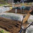 春夏野菜の畑の準備開始です。