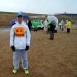 雨の区民マラソンで後走した日 volunteerd to run for accompanying last runner in a neighborhood public marathon