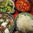 つるむらオクラと豆腐の煮びたし