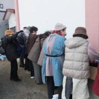12月15~16日  お気持ちお届けプロジェクト 餅サンタ編