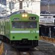JR西日本 京都(2018.2.12) クモハ103ー229 普通 京都行き