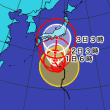 台風12号情報[31日6時更新]