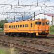 8月の北海道帰省にて 道南いさりび鉄道のキハ40より