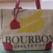 コーヒー豆のバッグ