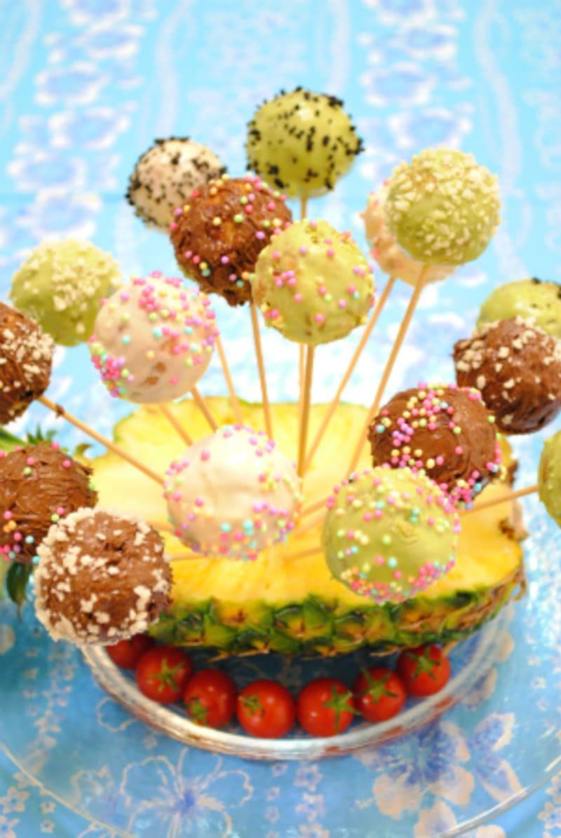 タコ焼き器で作る Cake Pop ~アメリカ サンフランシスコのフリーペーパー J weeklyに掲載~