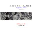 タムラノボル展-Ball-point drawing- 2019年1月18日(金)〜1月26日(土)<日曜休業>