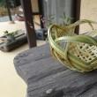 女性の竹細工職人