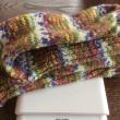 手編み靴下 作品NO.163