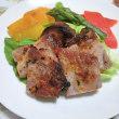 夕食は豚肉の粕味噌漬けでしたが・・・(・_・;)