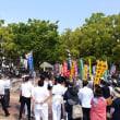 岡山県中央メーデーに参加
