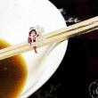隠れ家麺屋 名称麺天坊@川越市 蛤そばの次はかきそば490円、小振りですが大凡十個乗せの麺!!