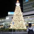 吉祥寺駅前のクリスマスツリー
