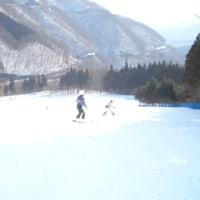久しぶりのスキー;赤沢スキー場
