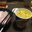 わびしい独身の夕食