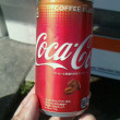 コーヒーテイストのコカ・コーラをはじめて頂いた♪