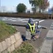 散歩の風景、交通量調査
