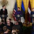 ロシアの脅威に対し、関係深める米国とバルト3国