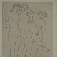 ピカソ 「三人の浴女 Ⅲ」