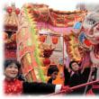 昨日は春節(^^♪爆竹が鳴り響き、 祝い事にはかかせない龍や獅子が舞い踊る神戸南京町の「春節祭」
