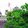 復旧進む熊本城天守閣  2018-6-17