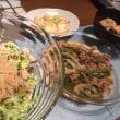 春雨サラダと豆腐ステーキ
