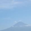 2017/8/2と8/7の富士山
