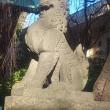 川崎稲毛神社【大鳥居、狛犬、拝殿など】