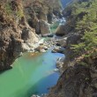 初冬の龍王峡ハイキング