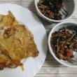6/18豚肉の生姜焼きで夕ご飯