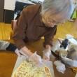 pizza作り( *´艸`)