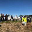 大豆収穫前の現地検討会の開催