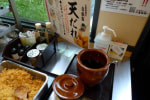 セルフ天丼とぶっかけ、冷やかけうどん @ 「丸亀製麺 西神戸店」西区