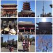 20160115浅草02。着物姿の3人は台湾から来た旅行者ですよ。素敵ですよ。