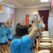 水交苑祭での太鼓演奏